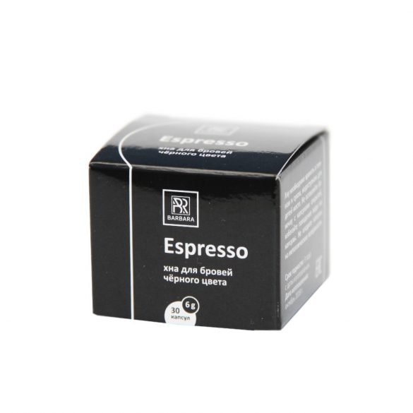 "BARBARA HENNA- ,,Espresso""  fekete szemöldök henna 6g"