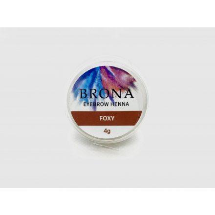 BRONA EYEBROW HENNA- Szemöldök henna- Foxy