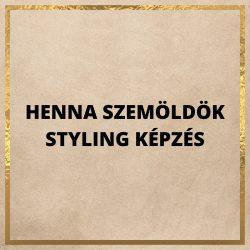 HENNA SZEMÖLDÖK STYLING ONLINE KÉPZÉS