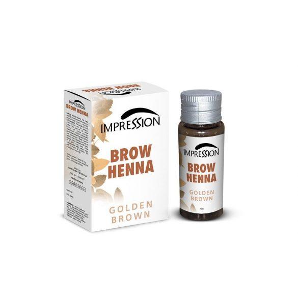 IMPRESSION BROW HENNA- GOLDEN BROWN