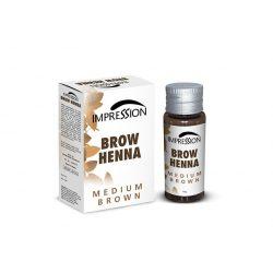 IMPRESSION BROW HENNA- MEDIUM BROWN