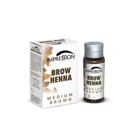 IMPRESSION BROW HENNA- MEDIUM BROWN