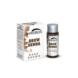 IMPRESSION BROW HENNA- DARK BROWN