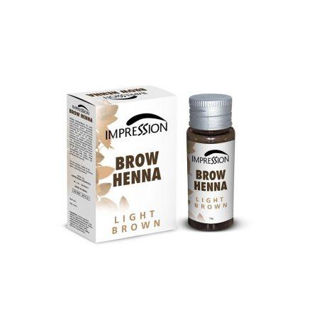 IMPRESSION BROW HENNA- LIGHT BROWN