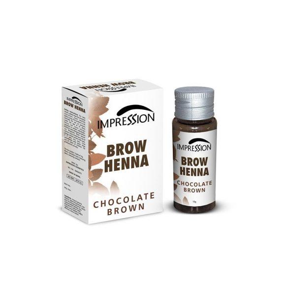 IMPRESSION BROW HENNA- CHOCOLATE BROWN