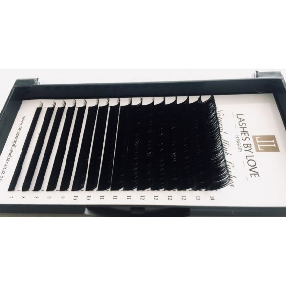 LASHES BY LOVE PREMIUM MINK 0.07 C-D ONE SIZED