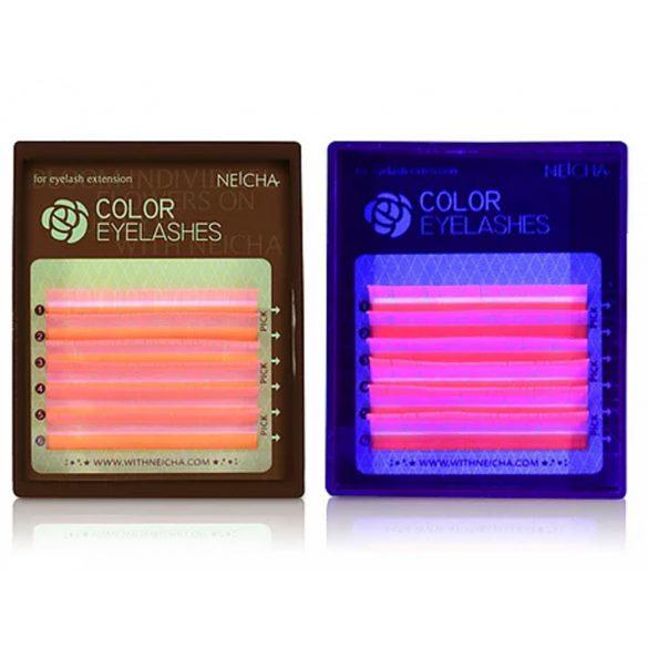 Neicha Premium Silk Mini Box Fluoreszkáló Pink