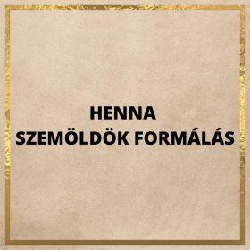 HENNA SZEMÖLDÖK FORMÁZÁS